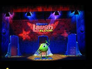 Monsters inc laugh floor interactive media archive for Monster inc laugh floor