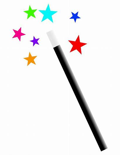 Wand Magic Transparent Background Clipart Magician Hat