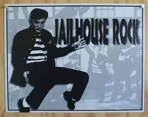 Elvis Presely Jailhouse Rock Tin Sign 5039s Sun Records