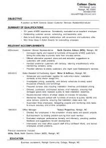 resume titles for customer service resume sle customer services assistant