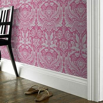 Top 15 Pink Damask Wallpapers for Interiors - Inspiration