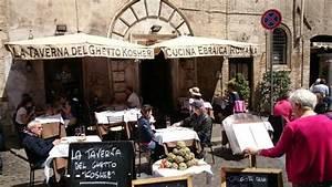 Roma'da Yahudi restoranları, Koşer restoranlar italya gezi