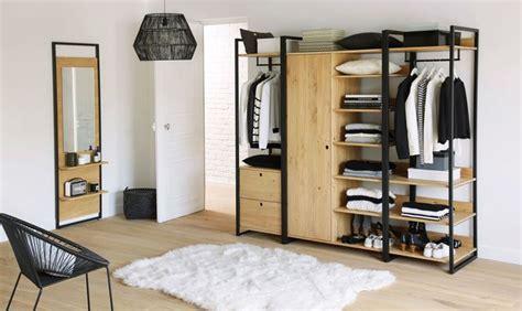 dressing ouvert chambre dressing pour ranger sa chambre à coucher les modèles du
