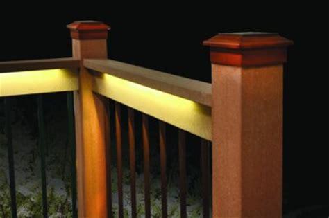 home depot deck rail lighting odyssey led light kit