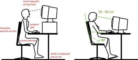 hauteur bureau ergonomie l 39 ergonomie à la place de travail vd ch