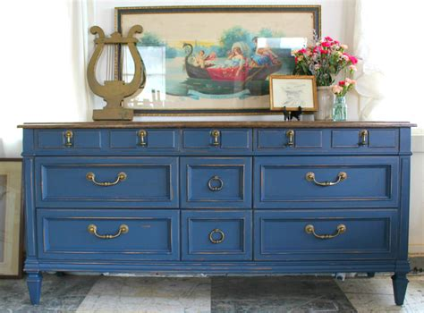 Blue Sideboard by Heir And Space A Vintage Sideboard In Blue