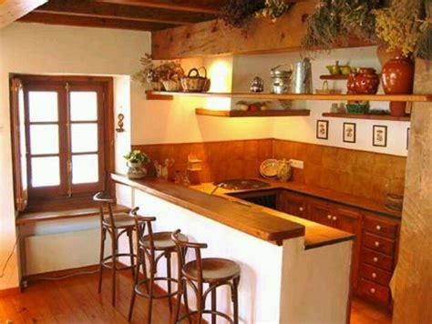 resultado de imagen  cocina  barra rustica cocinas