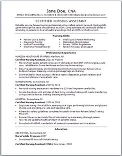 if you think your cna resume could use some tlc check out