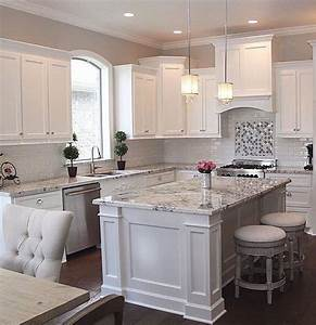 30 modern white kitchen design ideas and inspiration With kitchen colors with white cabinets with where to get inspection sticker