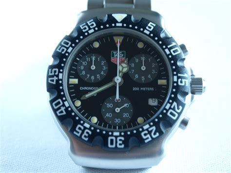 tag heuer formula 1 second not moving