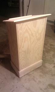 Ana White Podium for My Wife's Classroom - DIY Projects