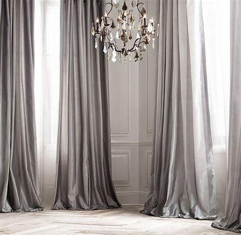 25+ Best Ideas About Silk Curtains On Pinterest Boudoir