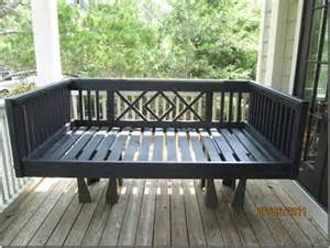 Outdoor Hanging Porch Bed