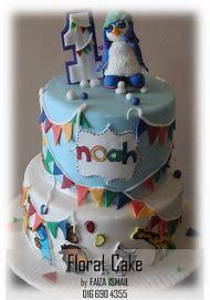 2 Tier Fondant Birthday Cake