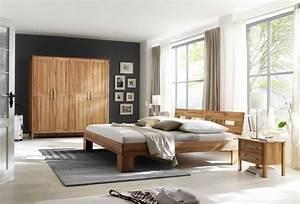 Schlafzimmer Landhausstil Modern : schlafzimmer komplett set kernbuche massiv ge lt kleiderschrank bett modern schlafzimmer ~ Sanjose-hotels-ca.com Haus und Dekorationen