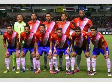 La selección de Costa Rica presentó su lista de convocados