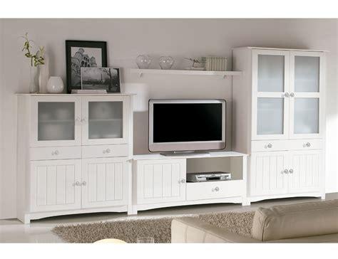 mueble comedor salón comedor con vitrina platero y mueble tv en madera