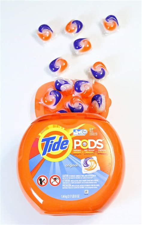 tide pods laundry   brite  bubbly