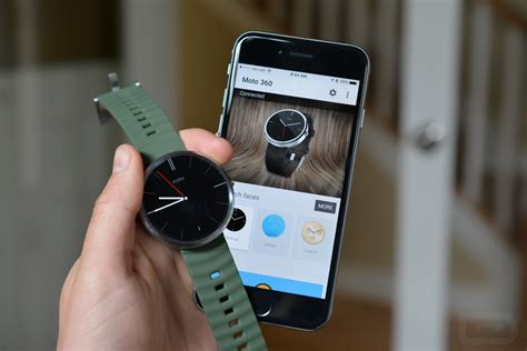 moto 360 for iphone moto 360 can pair with android wear on ios after all