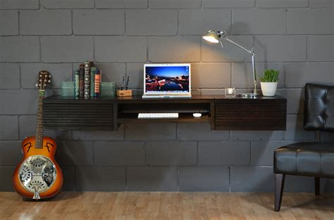 black wall mounted desk furniture fashionmodern writing desks 5 popular styles