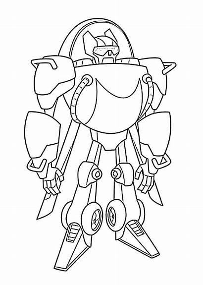 Rescue Bots Colorear Transformers Heatwave
