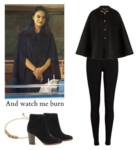 U0026quot;Veronica Lodge - Riverdaleu0026quot; by shadyannon liked on Polyvore featuring River Island ASOS ...