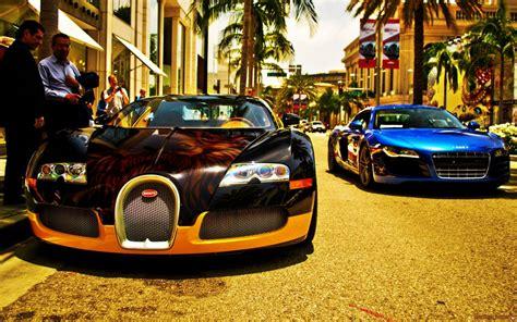 Bugatti Veyron Bugatti Audi R8 Wallpaper