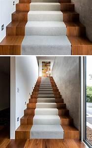 Escalier Bois Intérieur : escalier int rieur design la beaut est dans les d tails ~ Premium-room.com Idées de Décoration