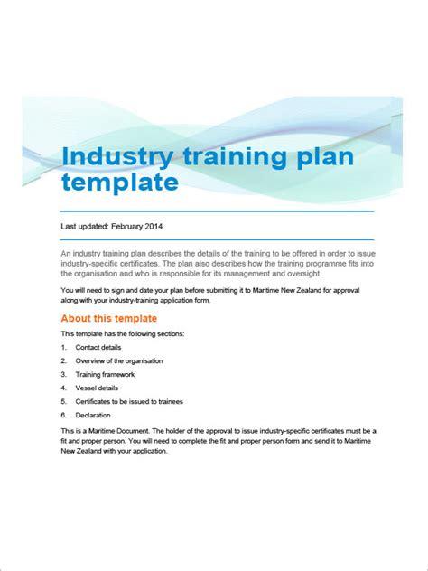 sample training plan templates  google docs