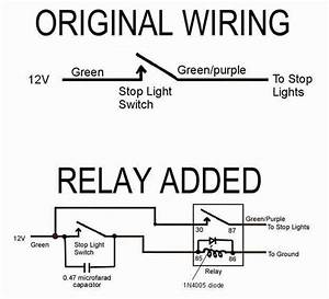 Fog Light Relay Wiring Diagram Positive Ground