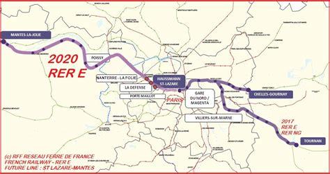Carte Metro Rer by Plan 2017 Rer Plan Metro