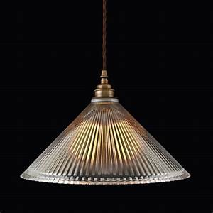Ribbed, Glass, Pendant, Light, Shade, On, Braided, Cord, Cable
