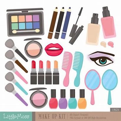Clipart Kit Cosmetic Digital Clip Makeup Beauty