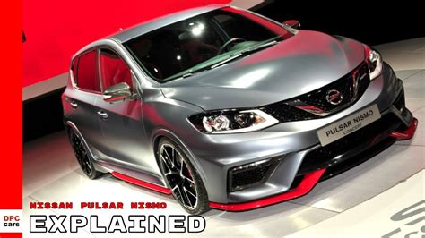 nissan pulsar nismo concept explained youtube