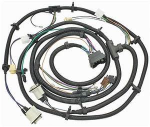 Forward Lamp Wiring Harness  1974 Chevrolet Chevelle  El