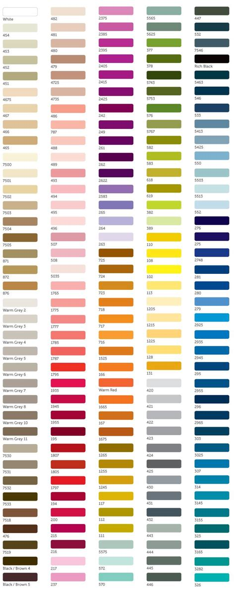 19 best pantone swatches images on
