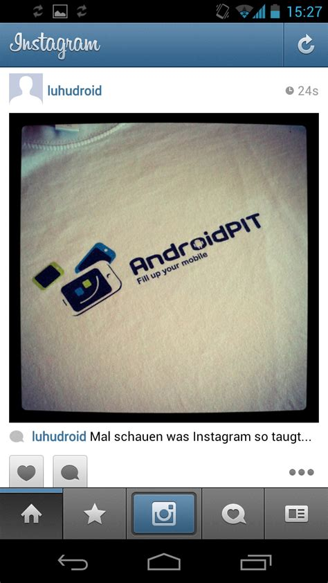 With Instagram - instagram now available for android androidpit