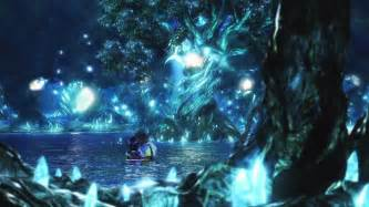final fantasy x hd remaster tidus yuna love scene