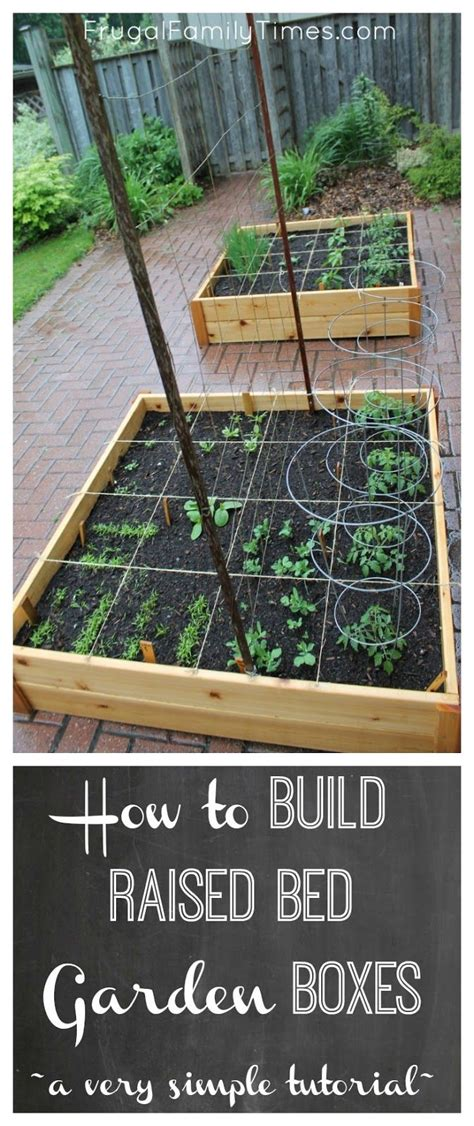how to build simple raised garden beds a cheap and easy