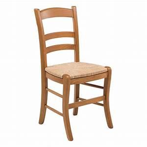 Chaise Cuisine Bois : chaises bois et paille maison design ~ Melissatoandfro.com Idées de Décoration
