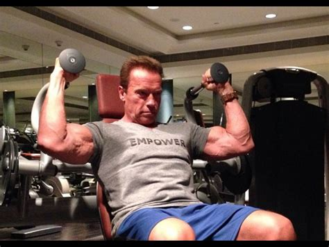 Arnold Schwarzeneggers Best Instagram Workout Videos And