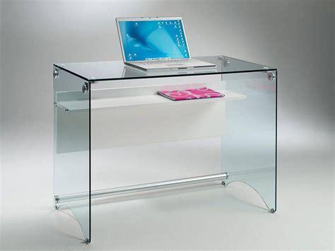 scrivanie computer scrivania per computer in vetro scribi