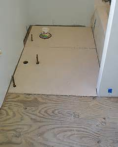 installing hardibacker tile backerboard for bath floor tiles
