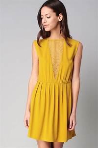 Robe été Mariage : les 25 meilleures id es concernant robe jaune sur pinterest robe jaune longue robe jaune et ~ Preciouscoupons.com Idées de Décoration