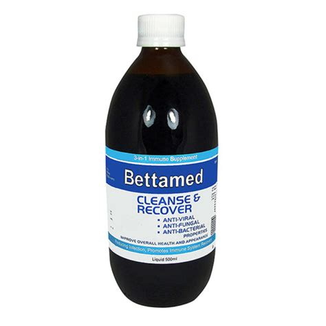 Cleanse And Recover Liquid 500ml Bettamed