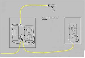 how do i wire a light switch and a receptacle in the same box With wiring a outlet