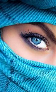 Beautiful Muslim women with Niqab | Eyes are the windows ...