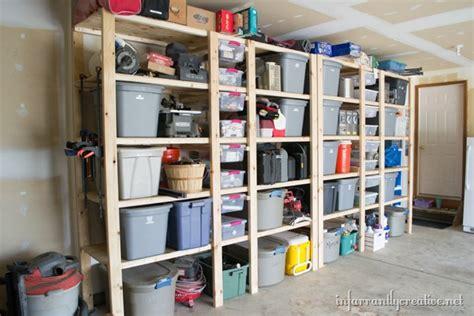 how to build garage shelves how to build garage shelves