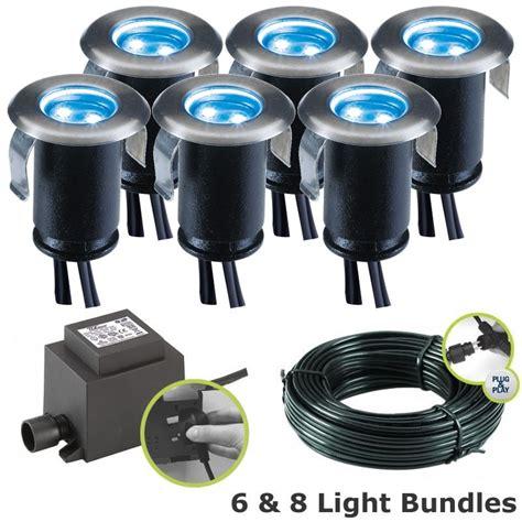 deck lighting kits techmar astrum blue led deck lights kit