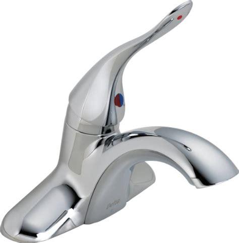 delta single handle centerset lavatory faucet less pop up